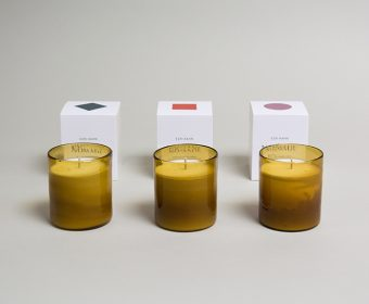 Preview Packaging for bougies Ezri Kahn Nomade by Claudia Eustergerling Design