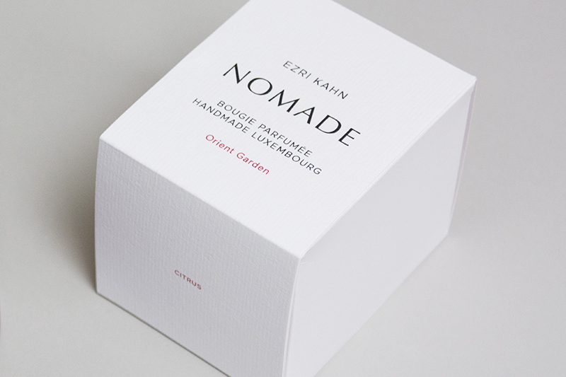 Packaging Bougies Nomade Ezri Kahn 06